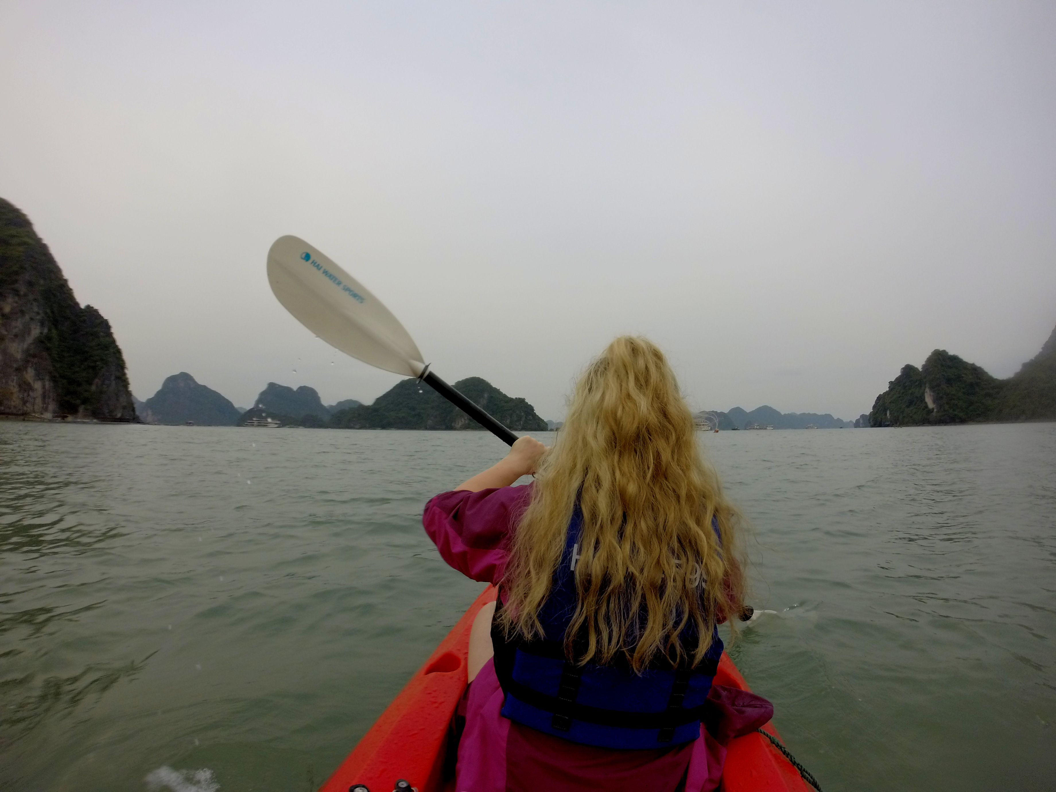 Halong Bay with Orchid Cruises- day 1.